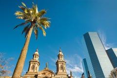 chile santiago Royaltyfria Foton