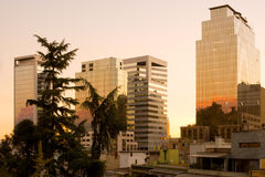 chile santiago Arkivbilder