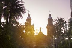 chile Santiago obraz royalty free
