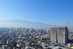 Chile, Santiago de Chile, Cityscape. Chile, Santiago de Chile royalty free stock photos
