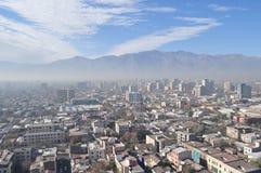 Chile Santiago de Chile, Cityscape Royaltyfria Foton