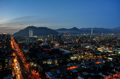 Chile, Santiago de Chile, Cityscape Royalty Free Stock Photography
