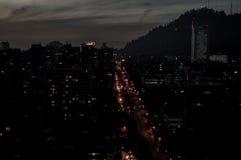 Chile, Santiago de Chile, Cityscape. Shot of Metropolitan region in Santiago de Chile, Chile, Cityscape royalty free stock photos