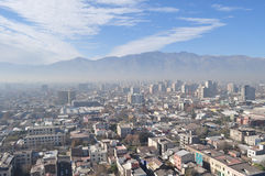 Chile, Santiago de Chile, Cityscape Royalty Free Stock Photos