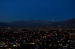 Chile, Santiago de Chile, Cityscape Stock Photo
