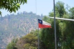 chile Santiago hace Chile Imágenes de archivo libres de regalías