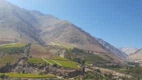 Chile sin las nubes fotos de archivo libres de regalías