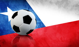 Chile Soccer Royalty Free Stock Photo