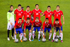 Chile Team Royalty Free Stock Photos