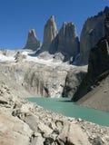 chile torres Del Paine Zdjęcia Royalty Free