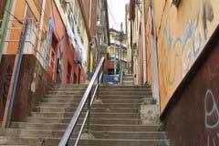 chile ulicy Valparaiso Obrazy Stock