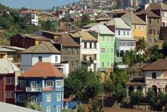 chile valparaiso Arkivbild