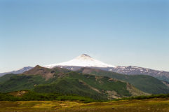 chile villarica wulkan Zdjęcia Royalty Free