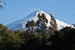 chile villarica wulkan zdjęcie royalty free