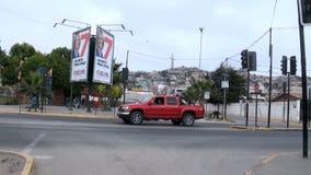 Chile - widok Coquimbo - pomnika krzyż Trzeci milenium zbiory wideo