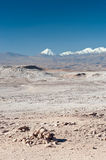 Chilean Atacama Desert (Valle de la Luna) Royalty Free Stock Photos