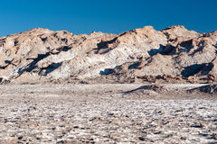 Chilean Atacama Desert (Valle de la Luna) Royalty Free Stock Photography