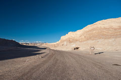 Chilean Atacama Desert (Valle de la Luna) Royalty Free Stock Photo