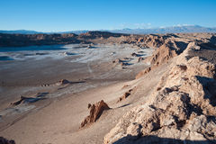 Chilean Atacama Desert (Valle de la Luna) Royalty Free Stock Images