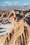 Chilean Atacama Desert (Valle de la Luna) Stock Photography
