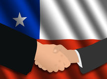 Chilean business meeting Royalty Free Stock Images