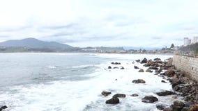 Chilean Coastline stock video