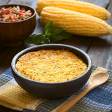 Chilean Corn Pie Called Pastel de Choclo Royalty Free Stock Image