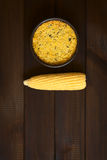 Chilean Corn Pie Called Pastel de Choclo Royalty Free Stock Photo