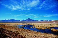 The Chilean Desert royalty free stock photo