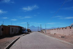 Chilean desert village Royalty Free Stock Image