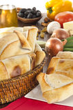 Chilean Empanada. Or meat pie Stock Photos
