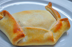 Chilean Empanada. Shot of a typical chilean Empanada Royalty Free Stock Images
