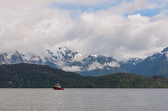 Chilean Fjords Royalty Free Stock Photography