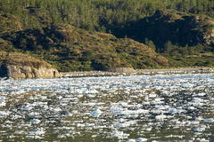 Chilean Fjords And Sarmiento Channel Stock Photography