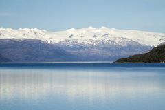 Chilean Fjords And Sarmiento Channel Royalty Free Stock Photo