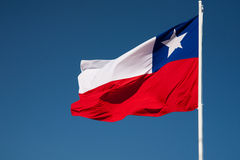 Chilean Flag Stock Photography