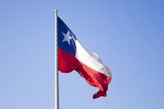 chilean flagę Zdjęcia Stock