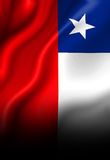 Chilean flag Stock Photos