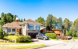 Chilean House In Valdivia Royalty Free Stock Photography