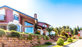 Chilean House In Valdivia Stock Photography