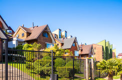 Chilean House In Valdivia Stock Image