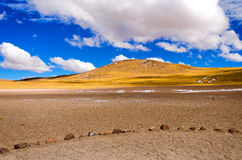 Chilean Landscape View Stock Image
