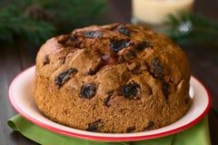 Chilean Pan de Pascua Christmas蛋糕 免版税库存照片