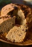 Chilean Pan de Pascua Christmas蛋糕 库存图片