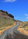 Chilean Patagonia. The gravel road Royalty Free Stock Image