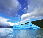 Chilean Patagonia in the  sunshine Stock Photo