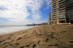 Chilean public beach Stock Image