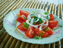 Chilean Salad Royalty Free Stock Photography