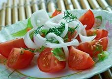Chilean Salad Stock Photo