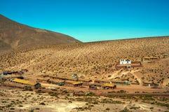 Chilean village in atacama Stock Photography